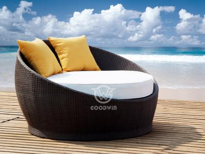 Outdoor Round Sunbed