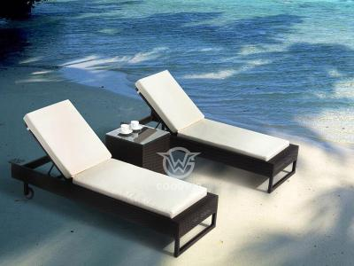 Outdoor Beach Chaise Lounger